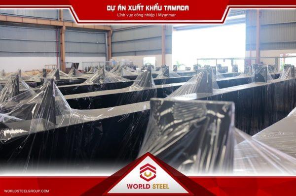 TMD - Dự Án xuất khẩu thép sang Myanmar